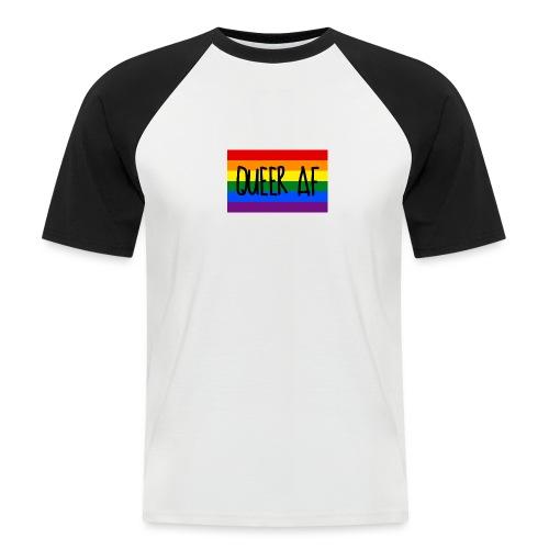 queer af - Männer Baseball-T-Shirt