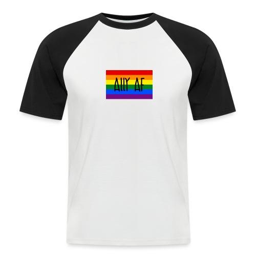 ally af - Männer Baseball-T-Shirt