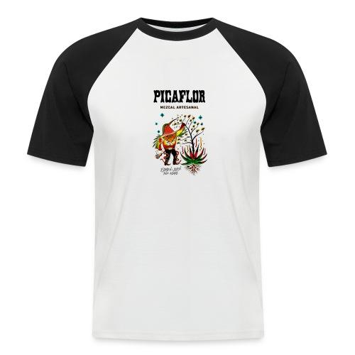picaflormezcal - Kortermet baseball skjorte for menn