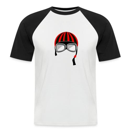red_helmet-png - Maglia da baseball a manica corta da uomo