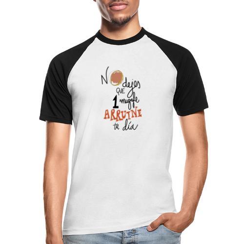 No dejes que 1 muggle arruine tu dia - Camiseta béisbol manga corta hombre