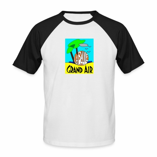 Grand-Air - T-shirt baseball manches courtes Homme
