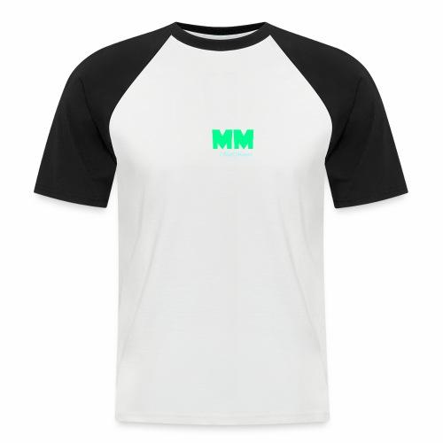 MattMonster Signature logo - Men's Baseball T-Shirt