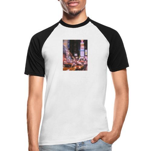 Ciudad - Camiseta béisbol manga corta hombre