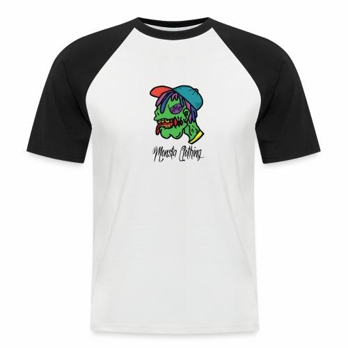 Monsta T-Shirt With Text - Men's Baseball T-Shirt