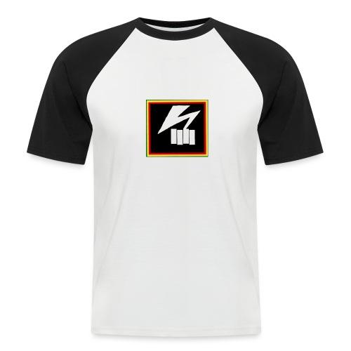 bad flag - Men's Baseball T-Shirt
