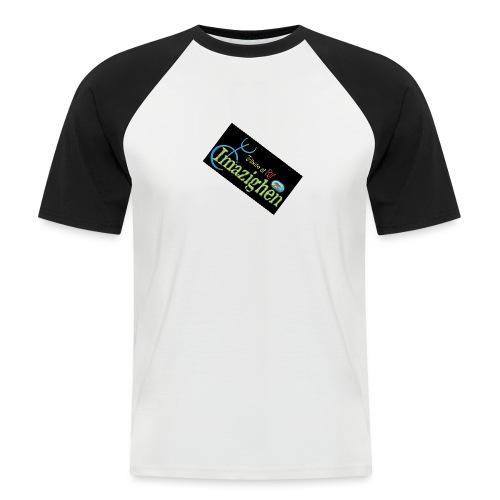 Imazighen ithran rif - Mannen baseballshirt korte mouw