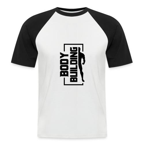 BODYBUILDING CLASSIC - Männer Baseball-T-Shirt