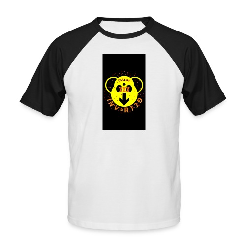 iNvERT3D - Camiseta béisbol manga corta hombre