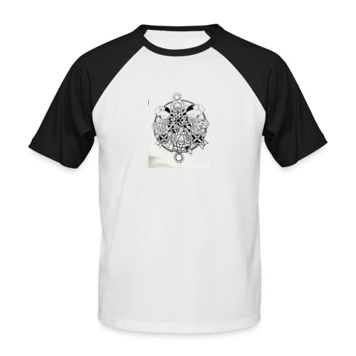 guerriere celtique entrelacs bretagne femme - T-shirt baseball manches courtes Homme