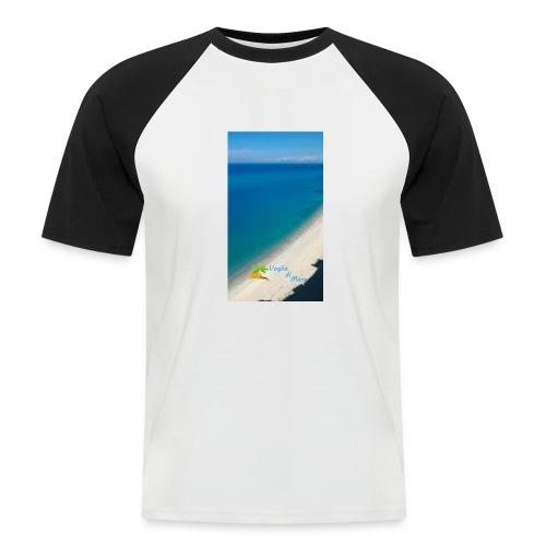 Tropea mare - Maglia da baseball a manica corta da uomo