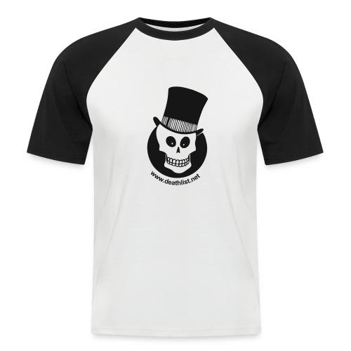 skully vector - Men's Baseball T-Shirt