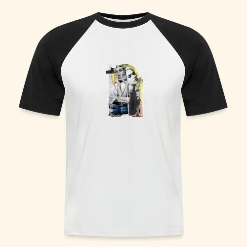Urbano - Camiseta béisbol manga corta hombre