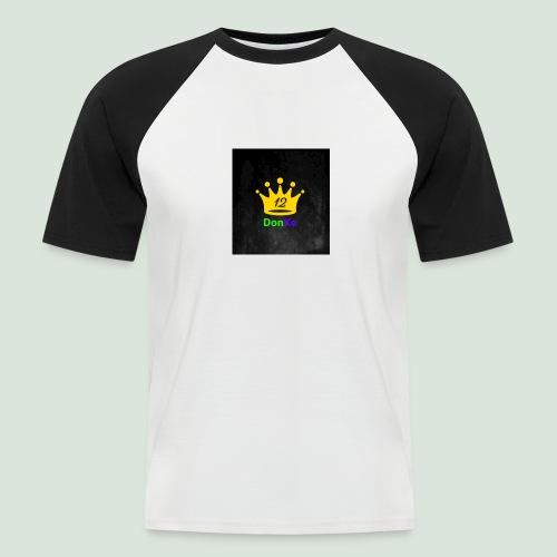 DonKe 12er Fashion - Männer Baseball-T-Shirt