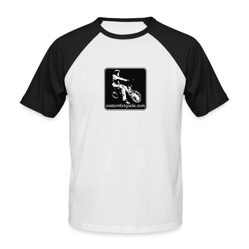 Logo Lowrider - T-shirt baseball manches courtes Homme
