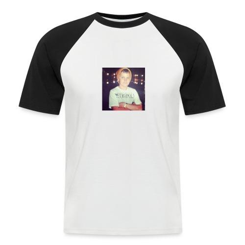 Shmokey X Metropolis range - Men's Baseball T-Shirt
