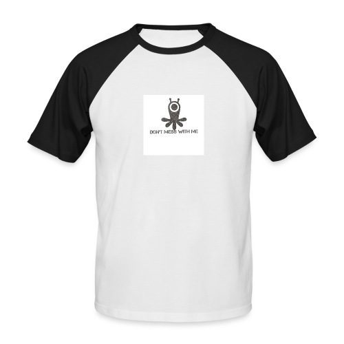 Dont mess whith me logo - Men's Baseball T-Shirt