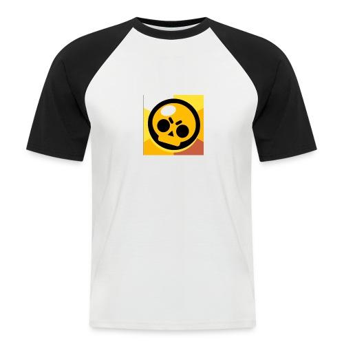 The brawl bros kings - Männer Baseball-T-Shirt