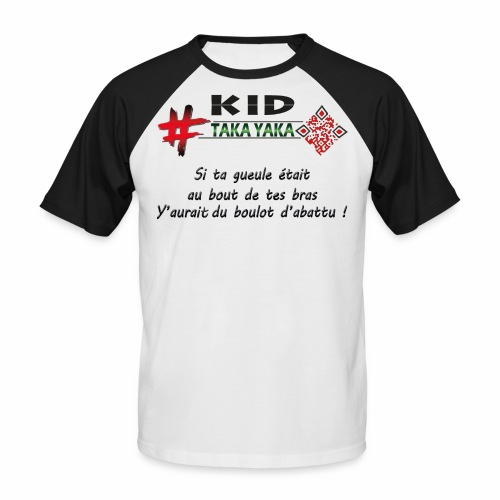 gueule png - T-shirt baseball manches courtes Homme