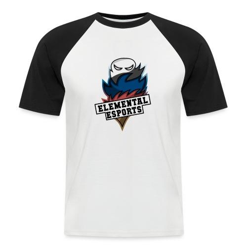 Elemental eSports | 2018 Logo - Kortærmet herre-baseballshirt