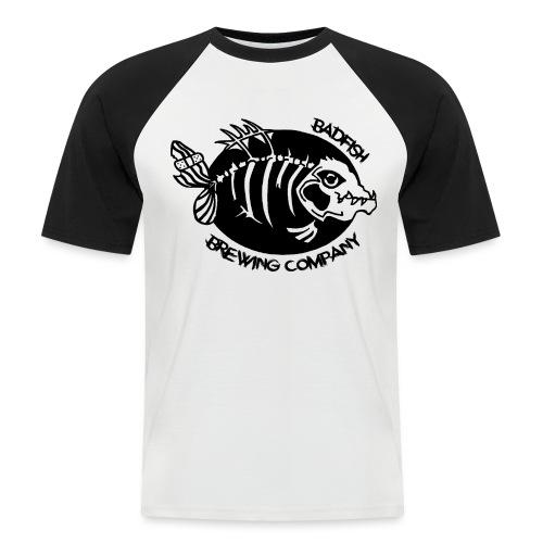 Grand logo devant - T-shirt baseball manches courtes Homme