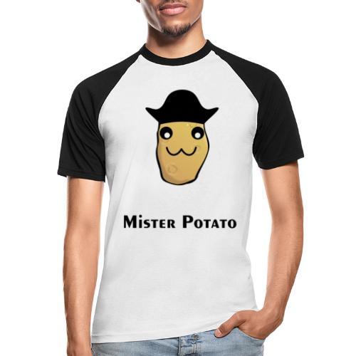 Mister Potato - Männer Baseball-T-Shirt