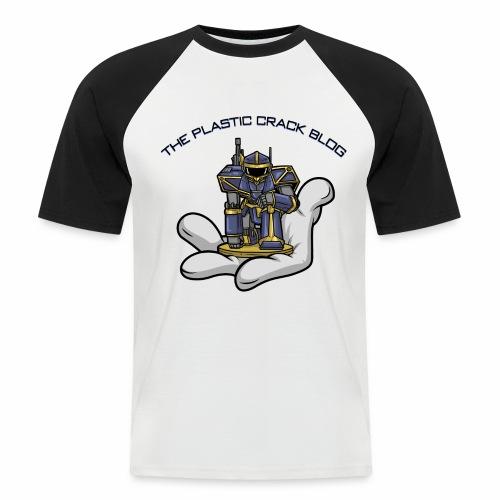 Plastic Crack Blog - Men's Baseball T-Shirt