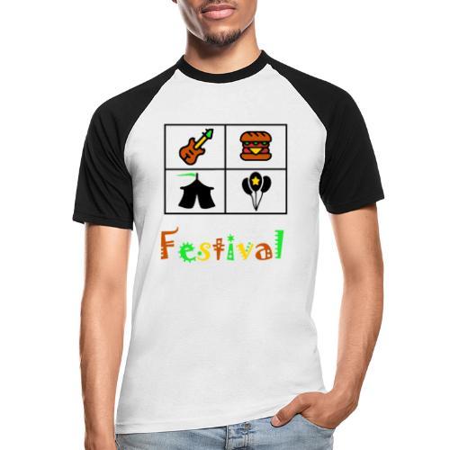 Festival Saison - Männer Baseball-T-Shirt