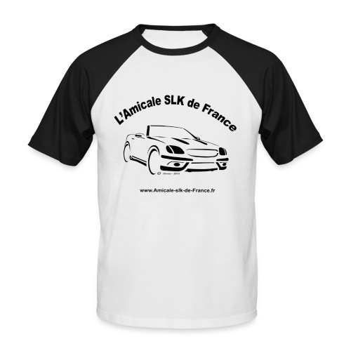 logo amicale black - T-shirt baseball manches courtes Homme