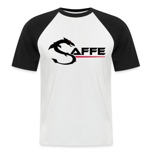 saffe logo - Männer Baseball-T-Shirt
