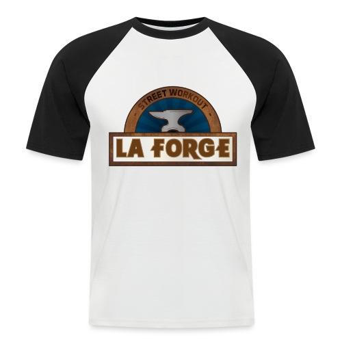La Forge - T-shirt baseball manches courtes Homme