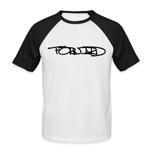 FORWARD OF RIDE ORIGINAL SIGNATURE BLACK - T-shirt baseball manches courtes Homme