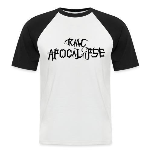 Raw Apocalypse Official Logo - Maglia da baseball a manica corta da uomo
