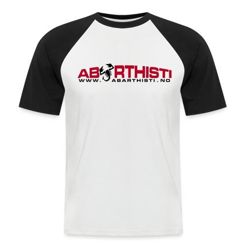 abarthlogored - Kortermet baseball skjorte for menn