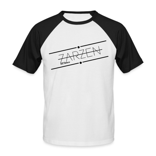 zarzenlogo2015 - Männer Baseball-T-Shirt