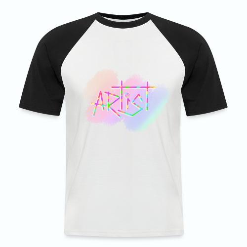 Artist in Colors - Camiseta béisbol manga corta hombre