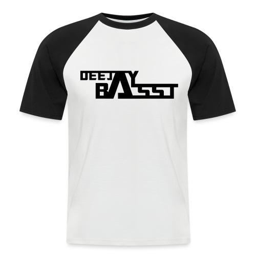 BassT_Logo_Druck_ - Männer Baseball-T-Shirt