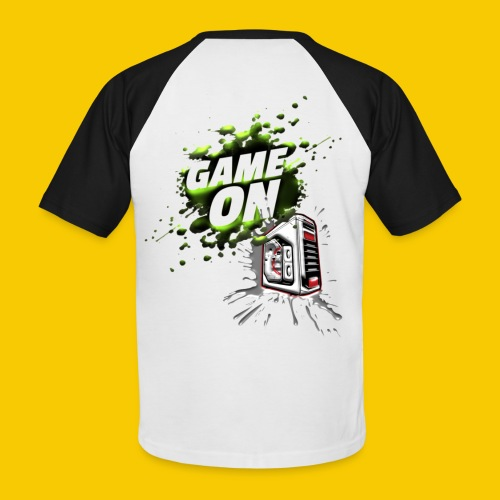 GAMEONE - T-shirt baseball manches courtes Homme