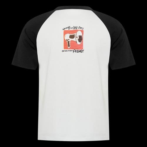 wanker shop logo - Männer Baseball-T-Shirt