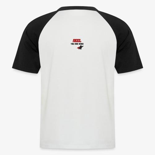 NEEL You Are Hero - Koszulka bejsbolowa męska