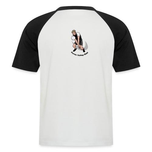 motif - T-shirt baseball manches courtes Homme