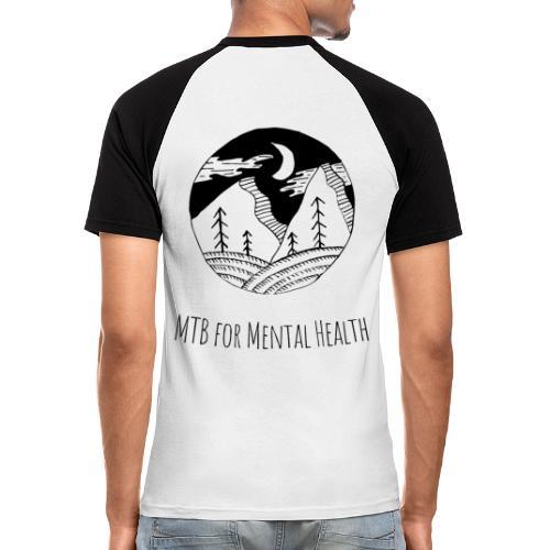 MTB for Mental Health - Men's Baseball T-Shirt