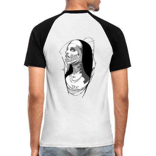 Nun hell - T-shirt baseball manches courtes Homme