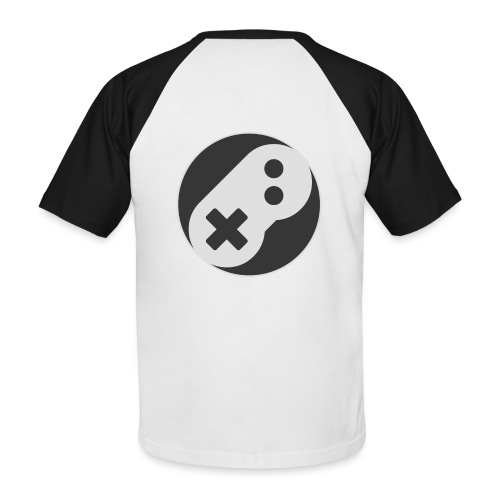 big ico png - T-shirt baseball manches courtes Homme