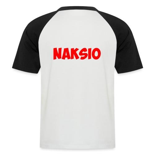 T-shirt NAKSIO - T-shirt baseball manches courtes Homme