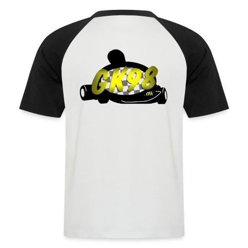 GK98dk2015 png - Kortærmet herre-baseballshirt