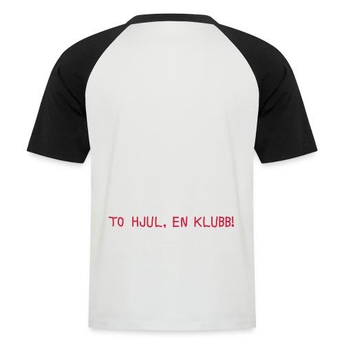 tohjul 2015 - Kortermet baseball skjorte for menn