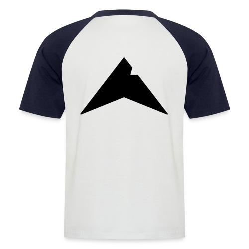 UP-CLAN Logo - Mannen baseballshirt korte mouw