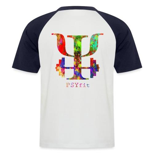 Watercolour splatter - Men's Baseball T-Shirt