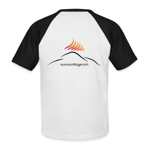 auroracottage.com - Männer Baseball-T-Shirt